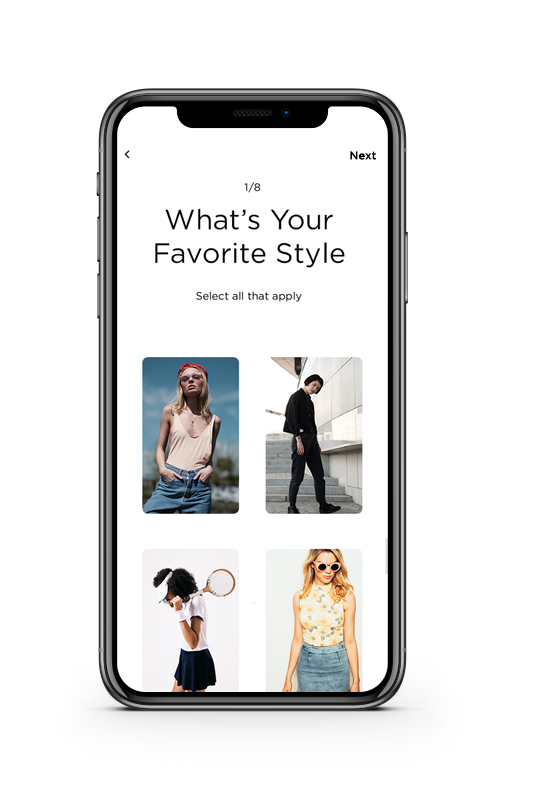 Native In-App Personalization Quiz to Collect Customer Shopping Preferences | PredictSpring