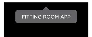Fitting Room App Bubble | PredictSpring