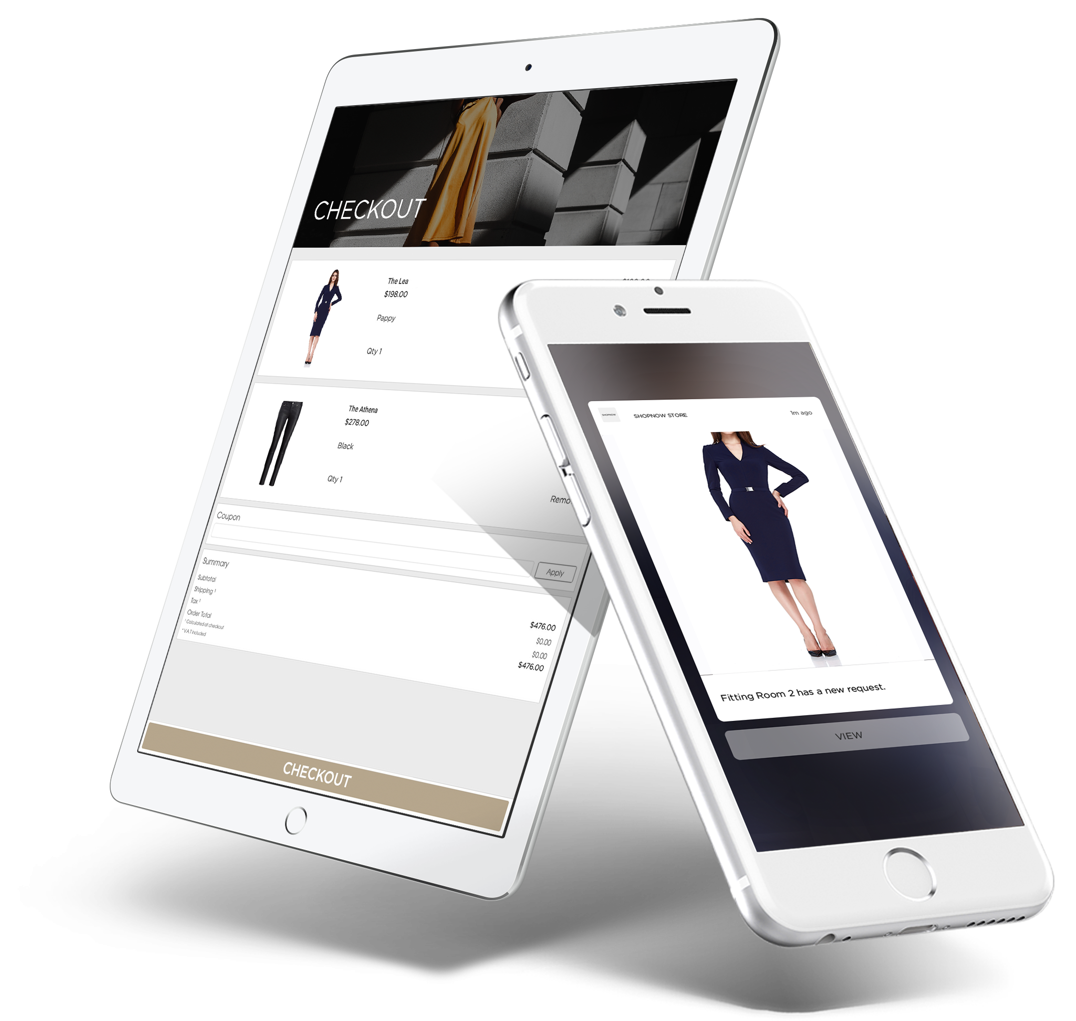 Aila and PredictSpring: Retail Fitting Room App for In-Store Technology Solution