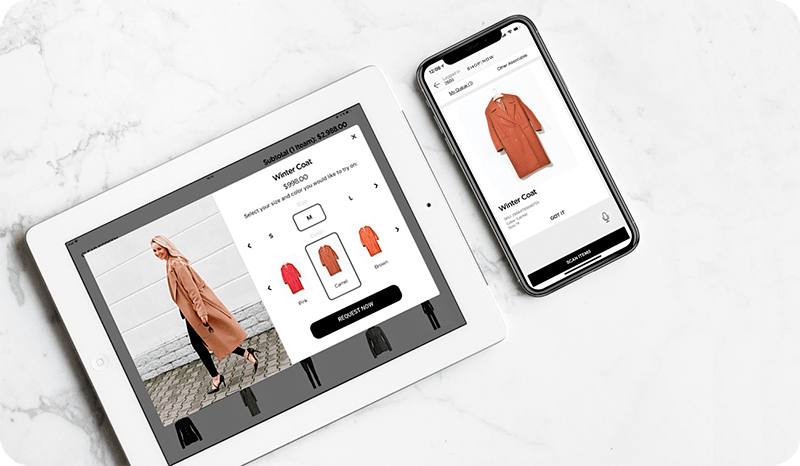 Fitting Room App for Stores of the Future | PredictSpring