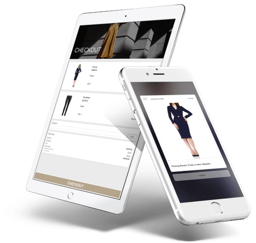 Fitting Room Native Mobile App for Store Associates Powered By PredictSpring