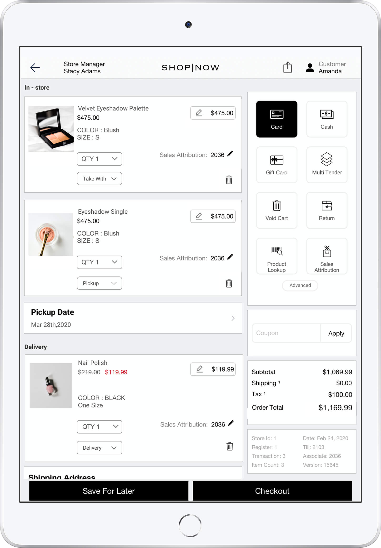 POS - Point of sale software for Brands and Retailer by PredictSpring