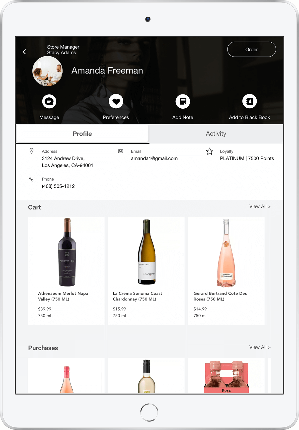 Winery Point of sale software by PredictSpring
