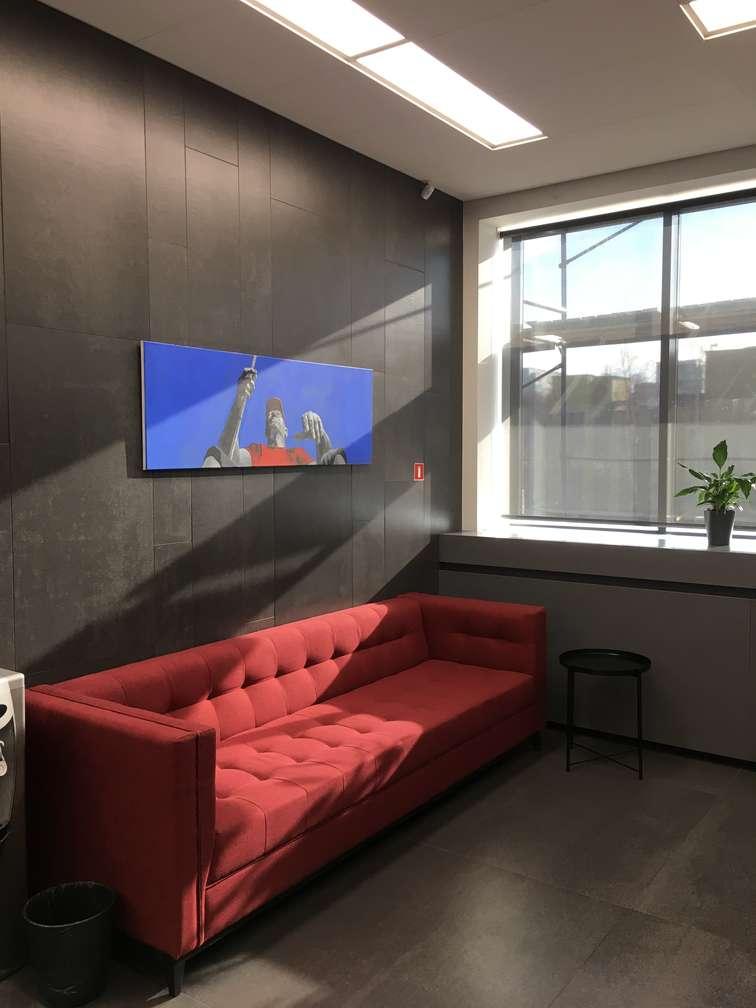 Офисный диван на заказ Минск 2
