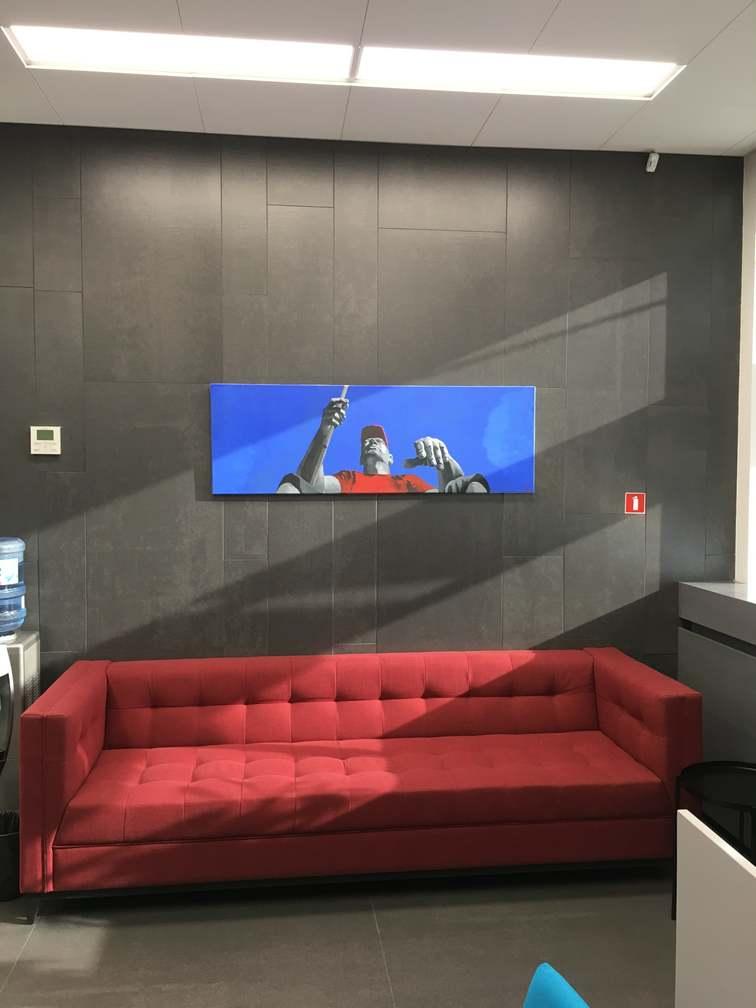 Офисный диван под заказ Минск