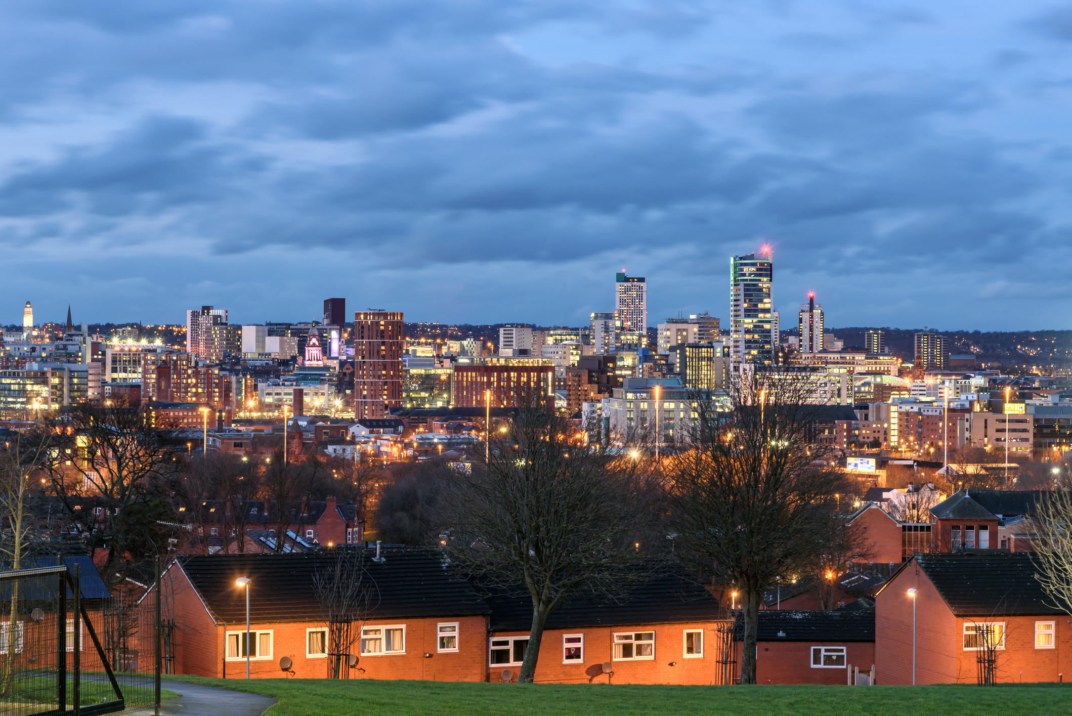 Image of Leeds' Skyline