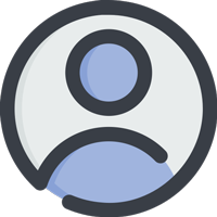 A user icon.