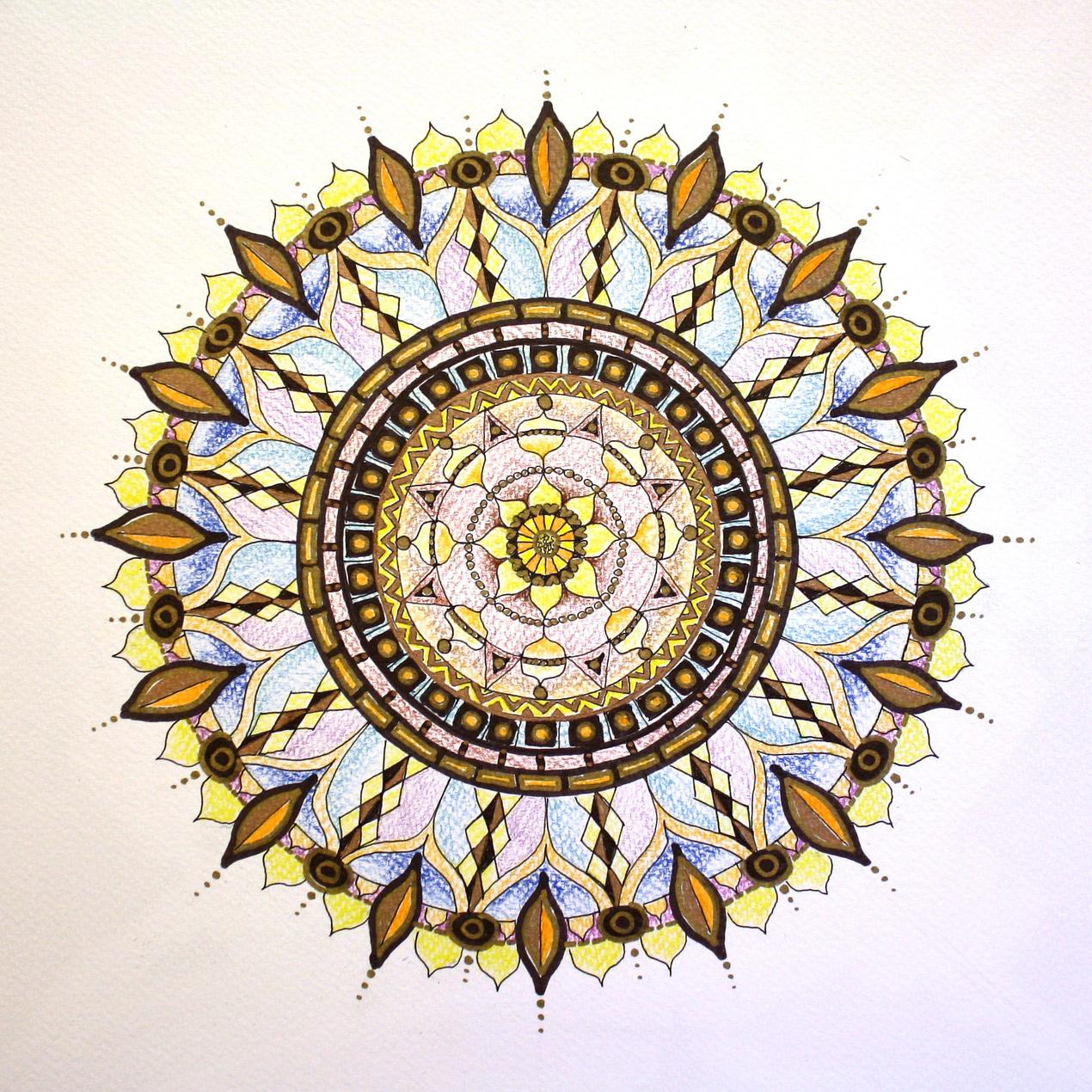 An image of a mandala.