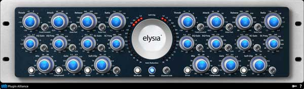 A picture of the Elysia Alpha Compressor.
