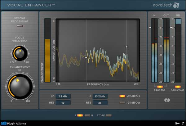 A picture of the Noveltech Vocal Enhancer.