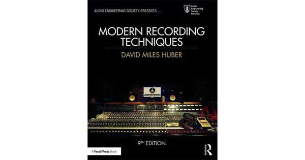 "A picture of a book titled ""Modern Recording Techniques (Audio Engineering Society Presents)"""