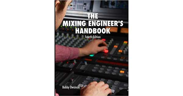 "A picture of a book titled ""The Mixing Engineer's Handbook"""