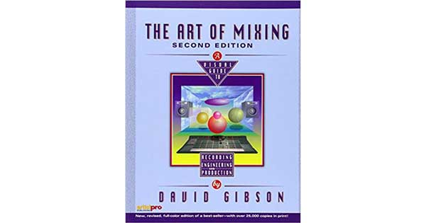 "A picture of a book titled ""The Art of Mixing"""