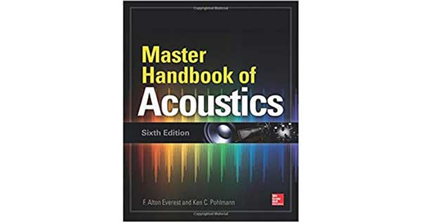 "A picture of a book titled ""Master Handbook of Acoustics"""