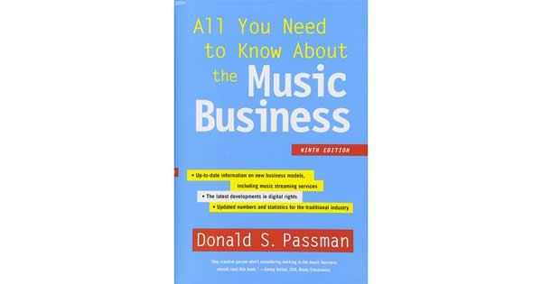 "A picture of a book titled ""All You Need to Know About the Music Business"""