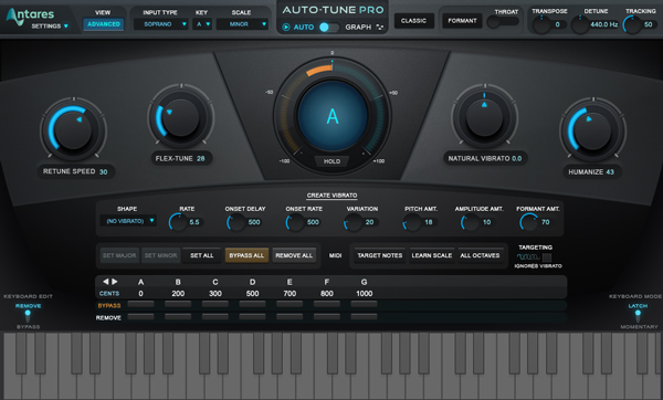 How to Apply Natural and Robotic Pitch Correction to Vocals   Black