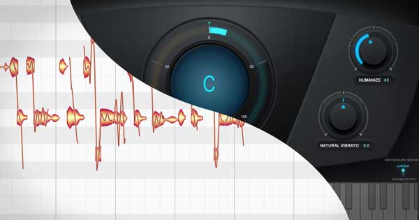Melodyne's user interface and Auto-Tune's user interface.