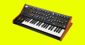 A hardware bass synthesizer.