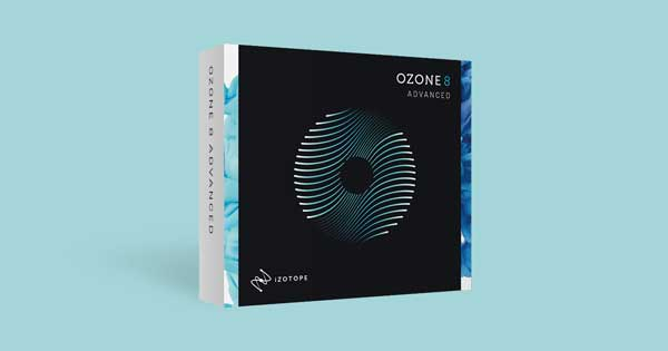 A picture of iZotope's Ozone 8 Advanced mastering plugin bundle.