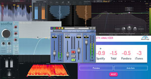 A variety of mastering plugins.