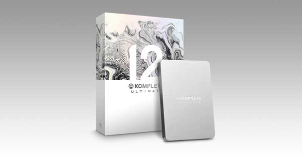 An image of the Native Instruments Komplete Ultimate - Collector''s Edition bundle.