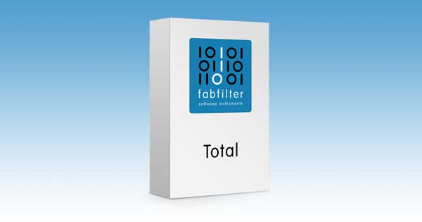 An Image of the FabFilter Total bundle.