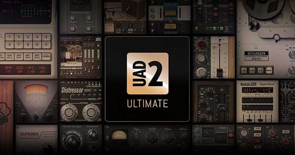 An image of the Universal Audio UAD 2 Ultimate bundle.