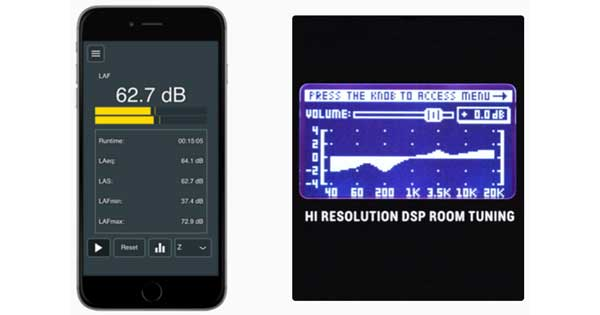 An image of the KRK Audio Tools app.