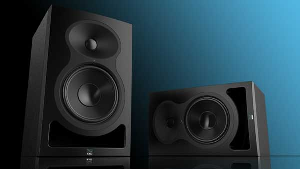 An image of Kali Audio's Project Lone Pine Series studio monitors.