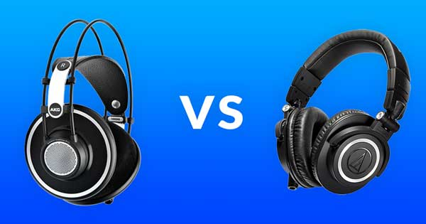 The Difference Between Open Back And Closed Back Headphones Black Ghost Audio