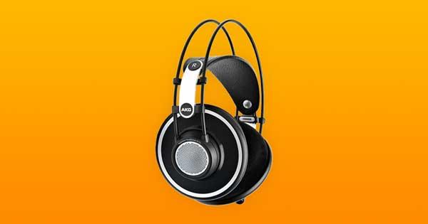 An image of a pair of AKG K702 headphones.