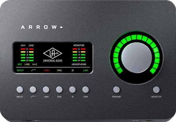 An image of the Universal Audio Apollo Arrow.