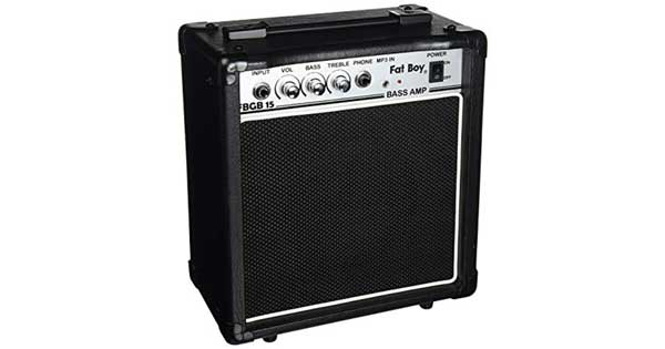 An image of a Fat Boy FBGB15 Bass Amp.