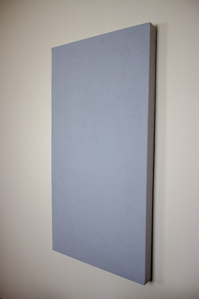 An image of a wall-mounted acoustic panel.