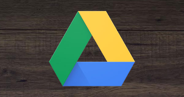 An image of Google Drive's logo.
