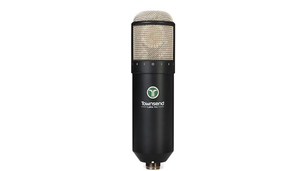An image of the microphone part of the Townsend Labs Sphere L22 microphone system.