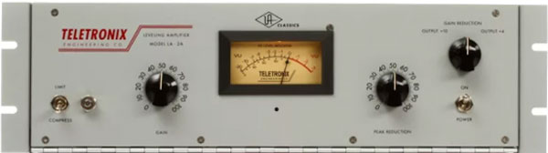 An image of the Universal Audio Teletronix LA-2A.