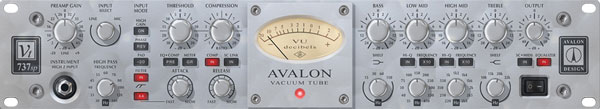 An image of the Avalon VT-737sp Tube Channel Strip.