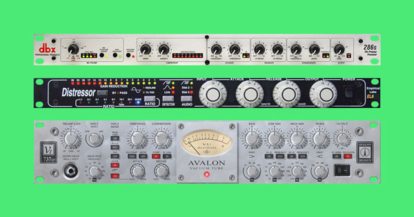 Three different hardware compressors.
