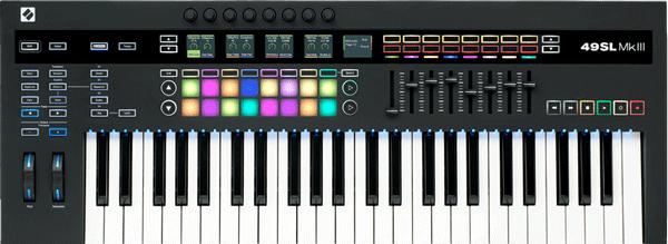 An image of the SL MKIII MIDI keyboard.