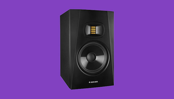 An image of ADAM Audio's T7V studio monitor.