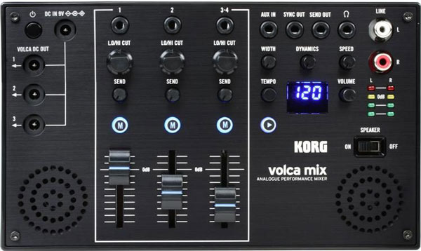 An image of the Korg Volca Mix.