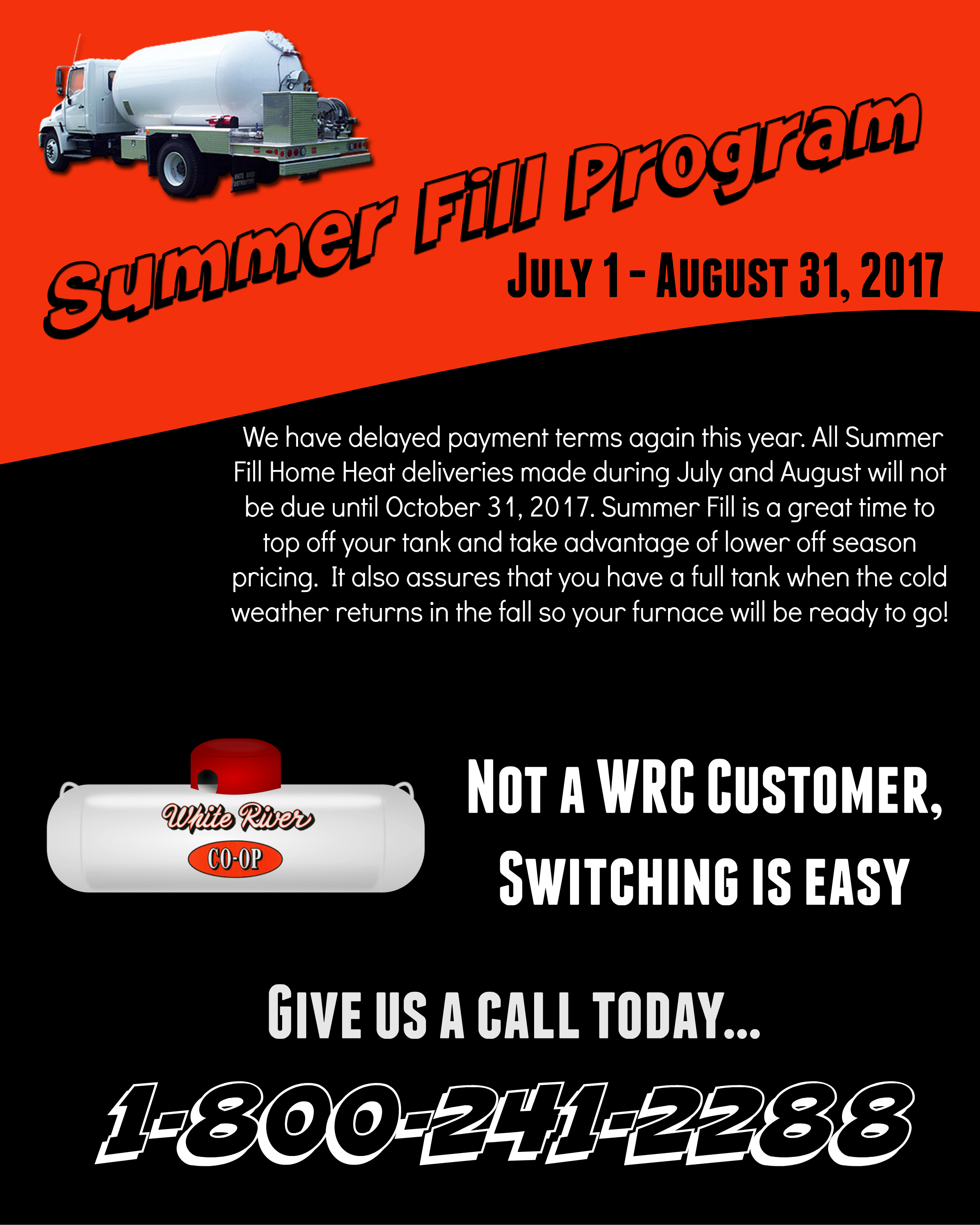 White River Co-op Summer Fill Program