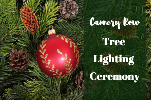 tree lighting in Monterey Ca