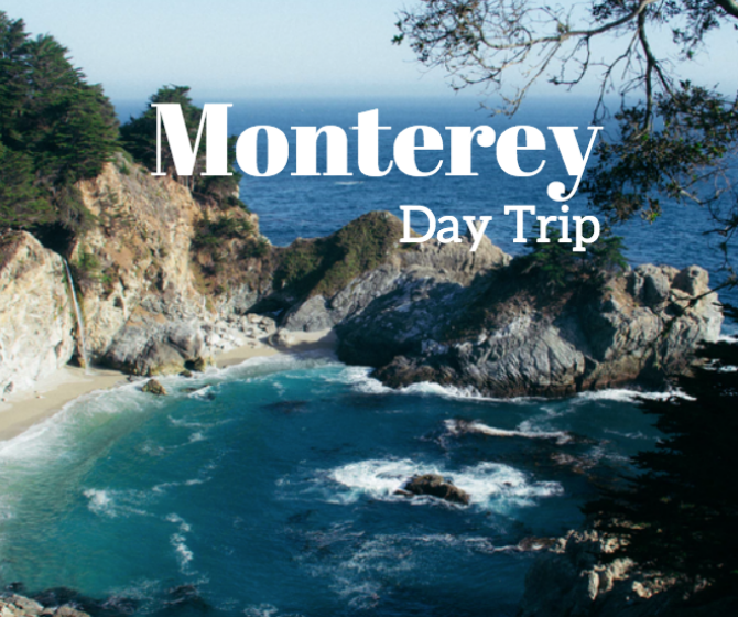 roadtrip to monterey