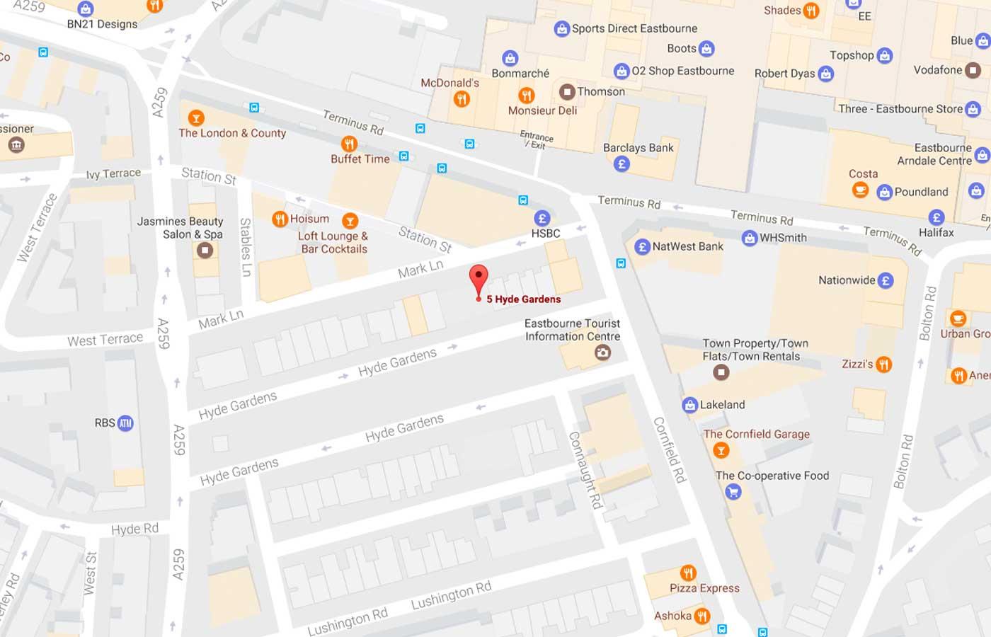 Trend Aluminium Office Building Map