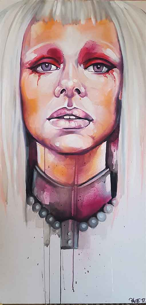 custom canvas painting by page 33 commission south african street artist