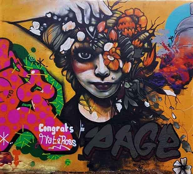 street art mural artist page33