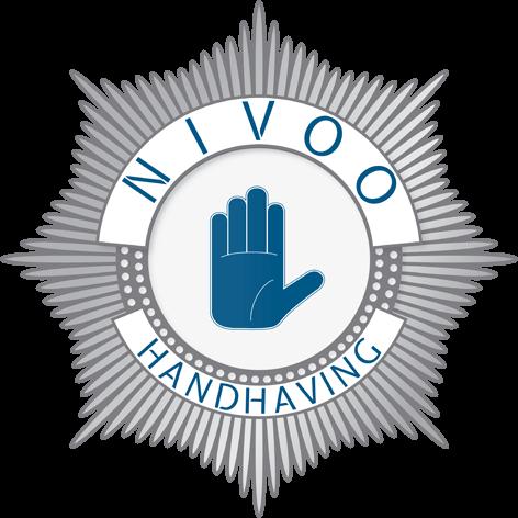Nivoo handhaving logo voor menu