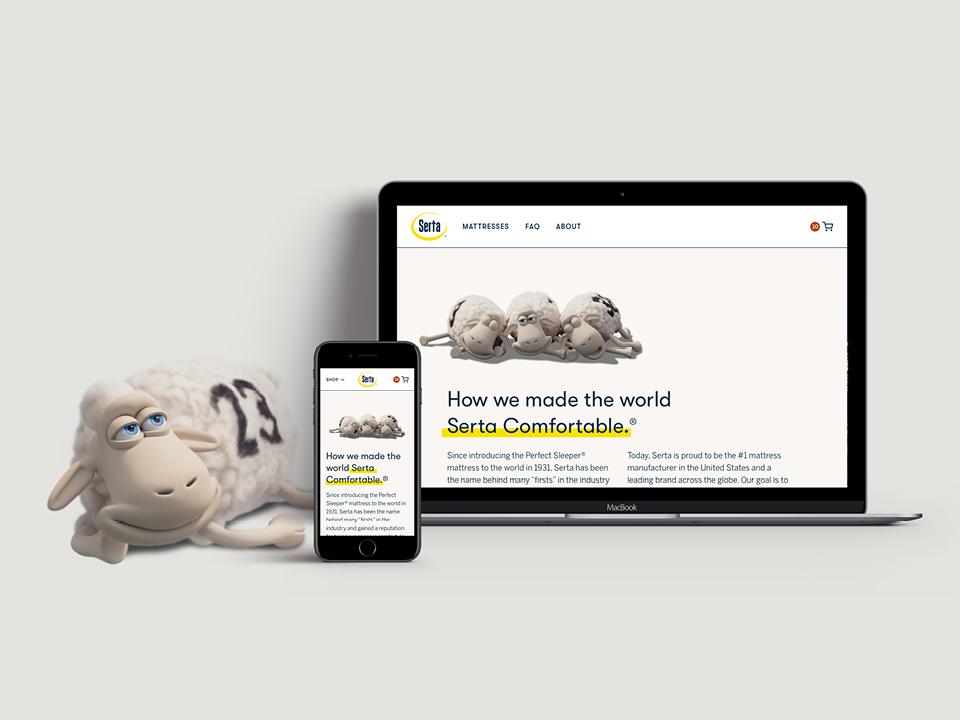 Go to the Serta.com Redesign case study on Medium.